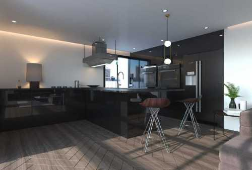 Papia - Apartment Render Kitchen