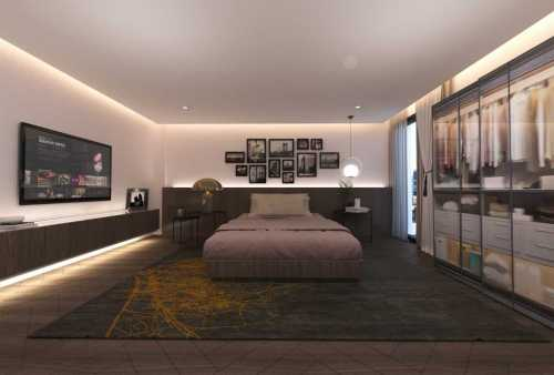 Papia - Apartment Render Master Bed