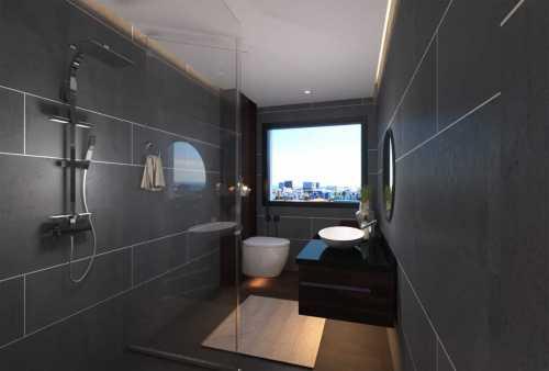 Papia - Apartment Render Washroom
